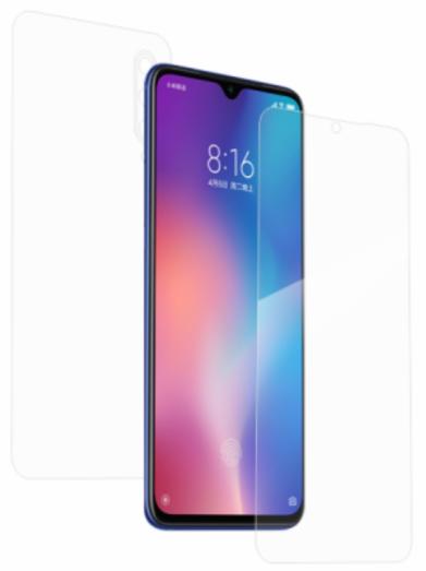 Гидрогелевая защитная пленка на Xiaomi Mi 9 SE на весь экран прозрачная