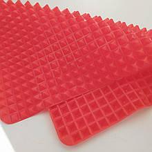 """Антипригарный коврик силиконовый для выпечки и готовки """"Пирамидка"""" Pyramid Pan Red"""