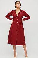 Платье женское миди красивое оригинальное стильное миди Maci красное/темно-синее S, M, L