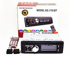 Автомагнитола 1DIN MP3 1781BT (1USB, 2USB-зарядка, TF card, bluetooth)  Автомагнитола Pioneer 1DIN MP3 1781BT, фото 3