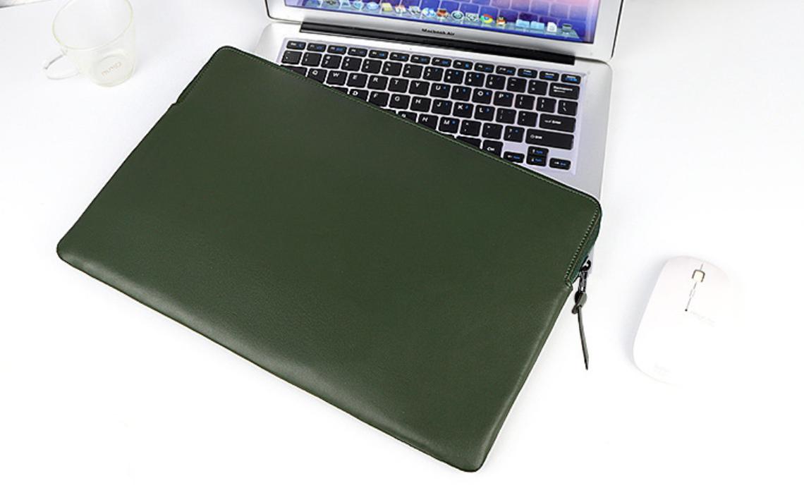 Чехол для Макбук Macbook Air/Pro 13,3'' 2008-2020 ЕКО - зеленый