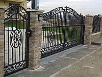 Изготовление металлических ворот, заборов и ограждений любой сложности