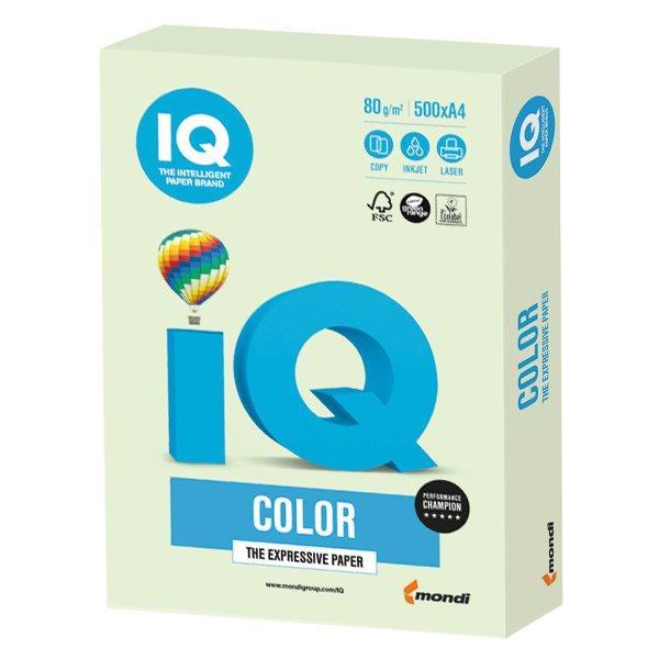 Бумага А4 IQ Color GN27 (светло-зеленый)