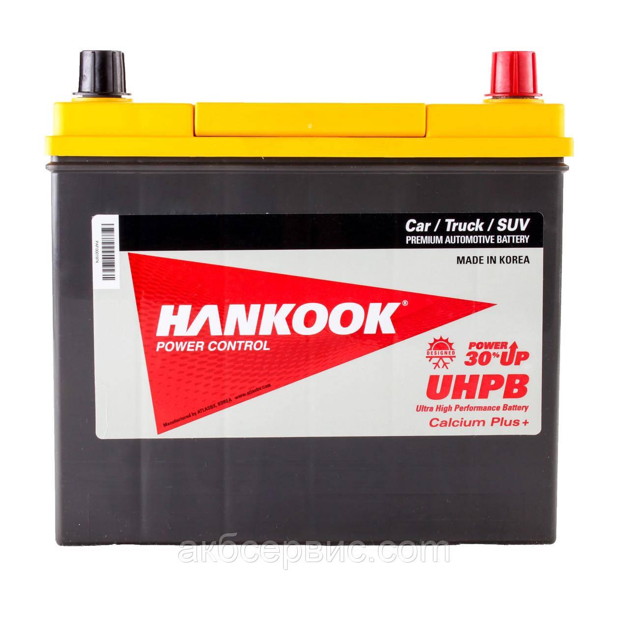 Аккумулятор автомобильный Hankook 6СТ-55 АзЕ Asia UMF75B24LS