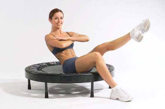 Обучение тренеров по фитнесу на батутах. Новое увлекательное направление в школе Олимпия