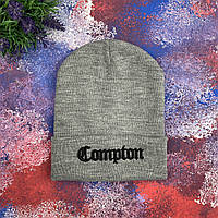 Серая шапка Compton, фото 1