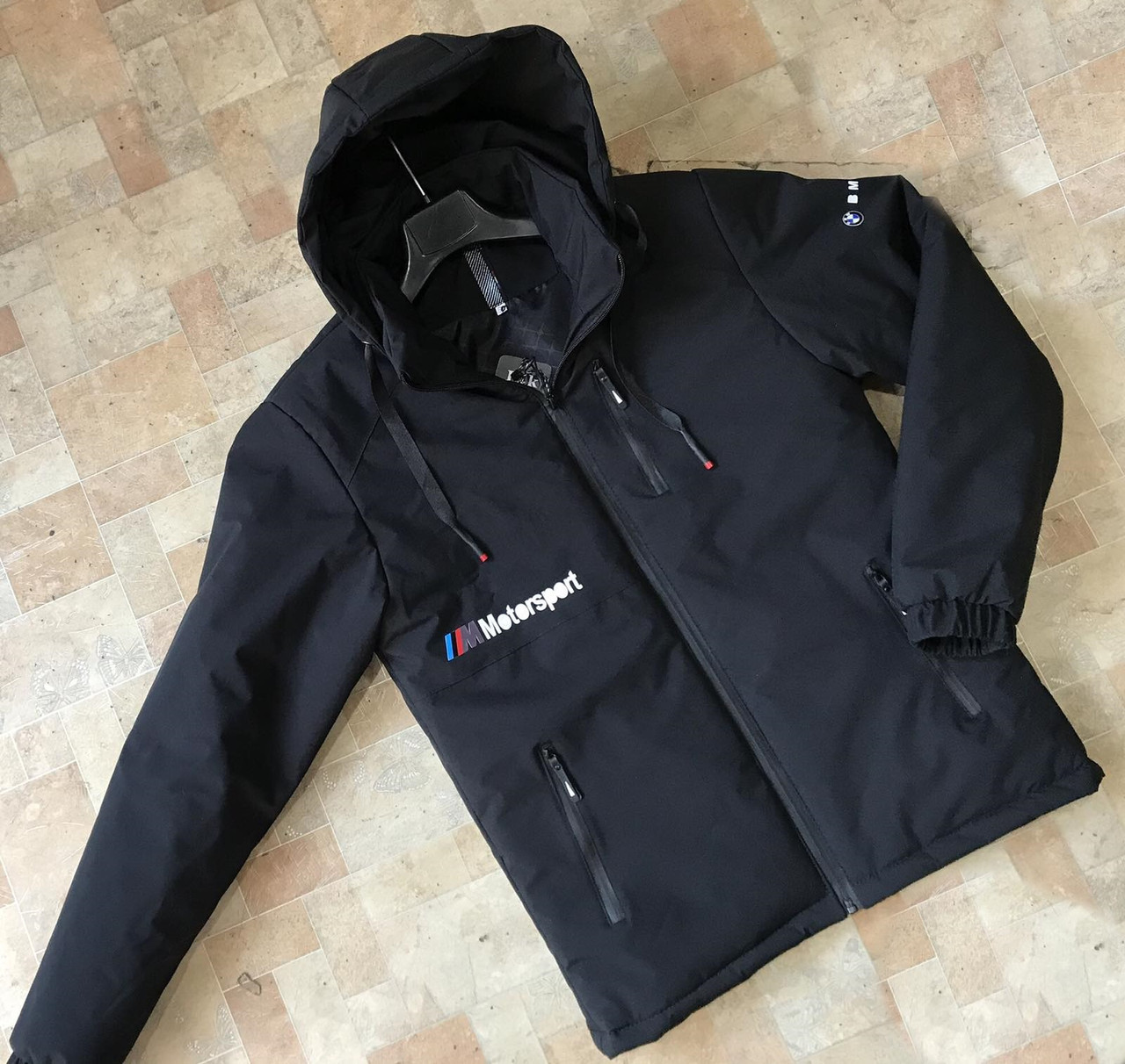 Куртка мужская демисезонная черная