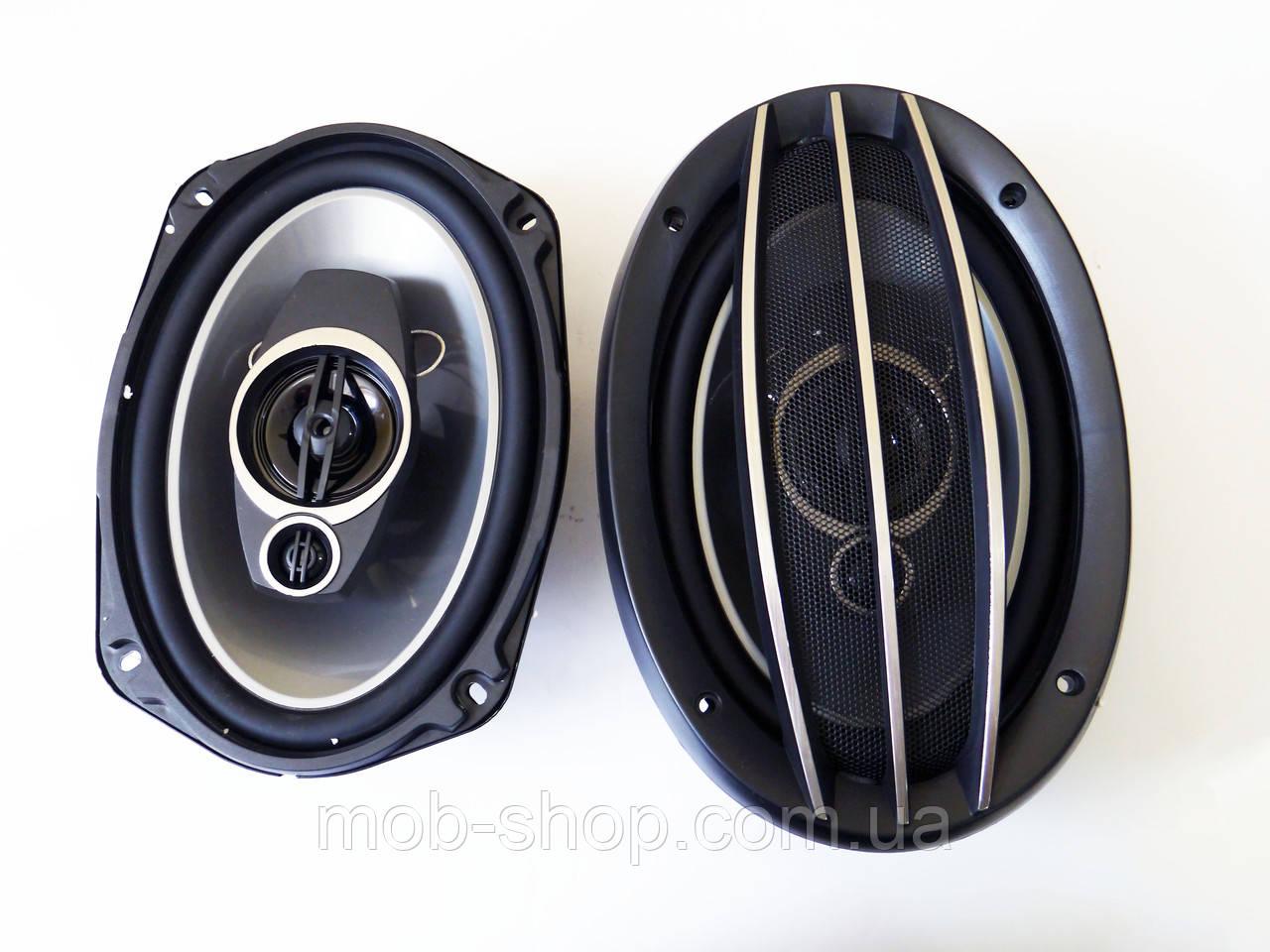 Автомобильные динамики Pioneer Овалы TS-A6974E пионер 500Вт Автоакустика динамики овальные 6х9 2х полосные