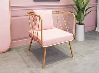 Кресло-диван розового цвета. Модель RD-9052