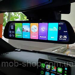 "Зеркало с видеорегистратором DVR MR-810 ANDROID Экран 10"" 4G WiFi GPS две камеры регистратор-зеркало"