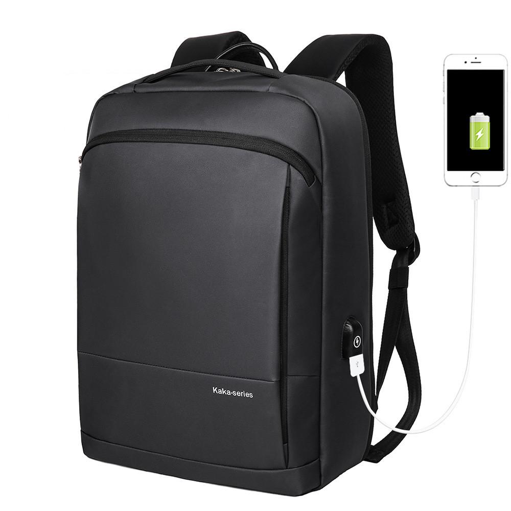 """Городской рюкзак Kaka 509 для ноутбука до 15,6"""", с USB портом и RFID защитой, 20л"""
