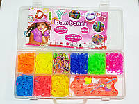 Резинки для плетения браслетов Fashion loom bands set 1800шт!!