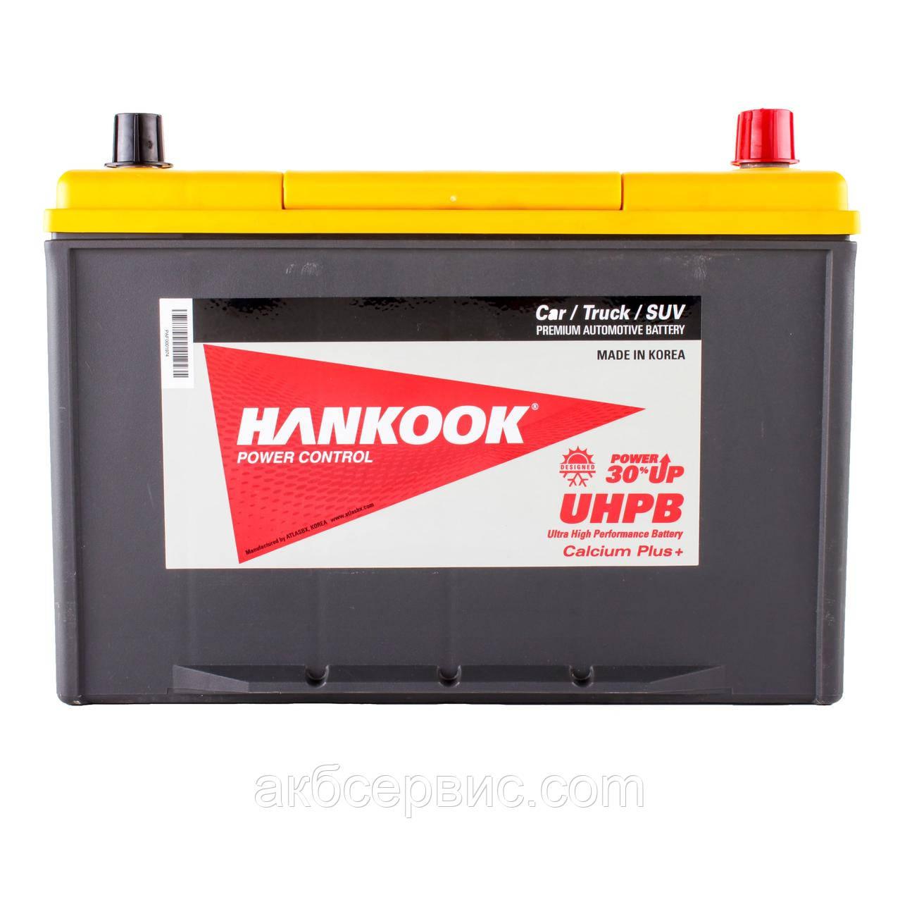 Аккумулятор автомобильный Hankook 6СТ-100 АзЕ Asia UMF135D31L