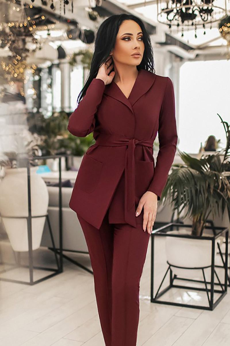 S, M, L, XL | Вечірній жіночий костюм Oregano, бордо