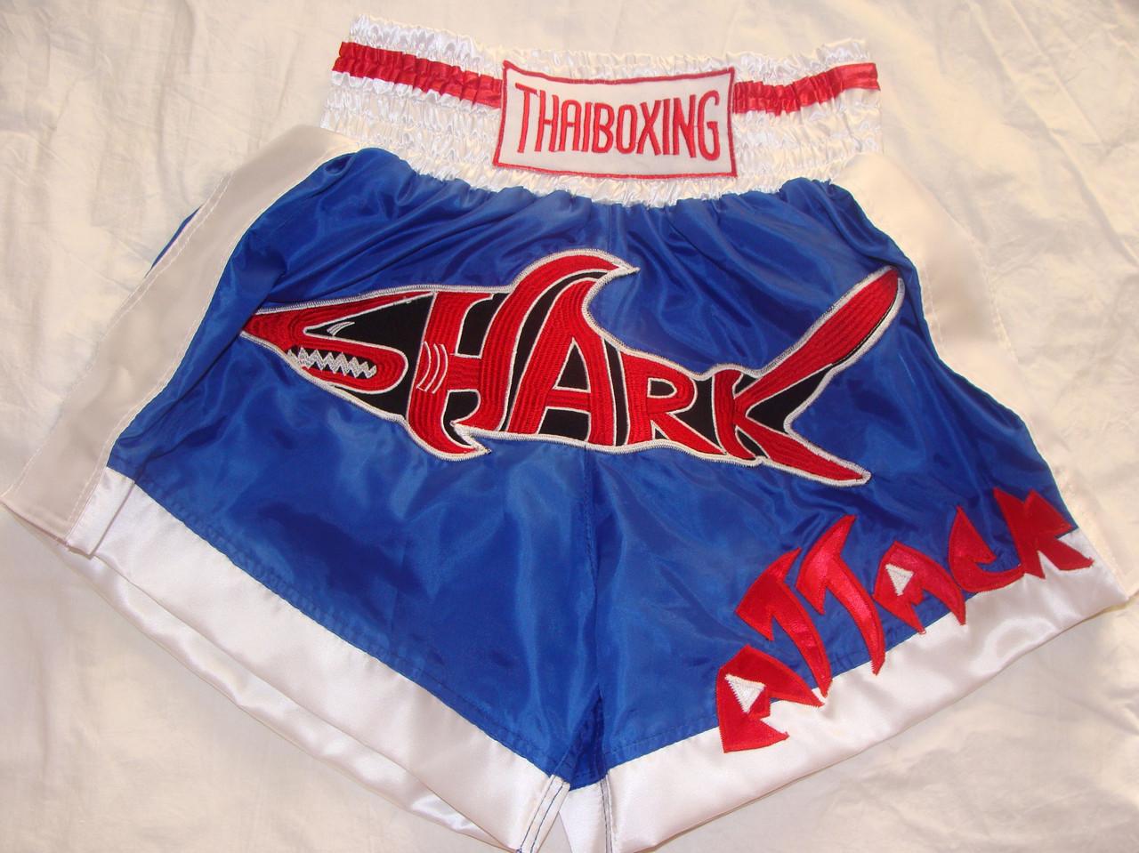 """Шорты для тайского бокса """"SHARK"""""""