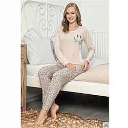 Піжама жіноча бавовняна з штанами Smile Туреччина S-XL L