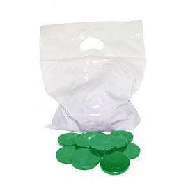Воск Хлорофилл зеленый безполосный 1 кг
