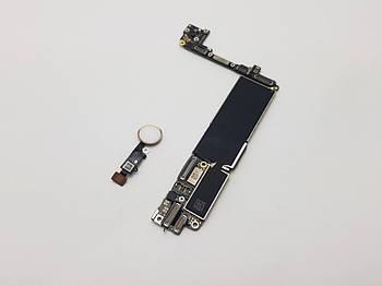 Материнская плата Apple iPhone 7 Never Lock с Touch ID Rose Gold 32Gb оригинал с разборки (100% рабочая)