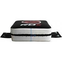 Настенная подушка для бокса квадратная Small Red RDX .  Черный