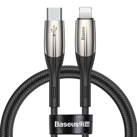 Кабель Baseus Horizontal Type-C to iP QC 3.0+PD 1m 18W