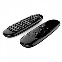 Аэромышь Wireless Air Mouse C120 Клавиатура с гироскопом воздушная мышь пульт Android TV Smart Черный (646 V)