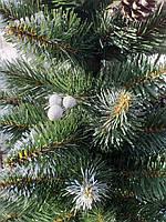 Елка искусственная новогодняя Калина элит с шишками, фото 1