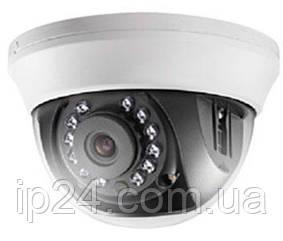 HD-TVI видеокамера купольная Hikvision DS-2CE56C0T-IRMM (3.6 мм)