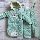 Детский зимний конверт - комбинезон Тройка  ( штанишки, курточка, конверт ), фото 6