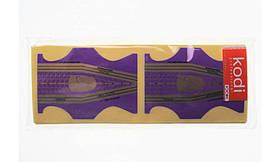 Форми фіолетові двосторонні 300шт