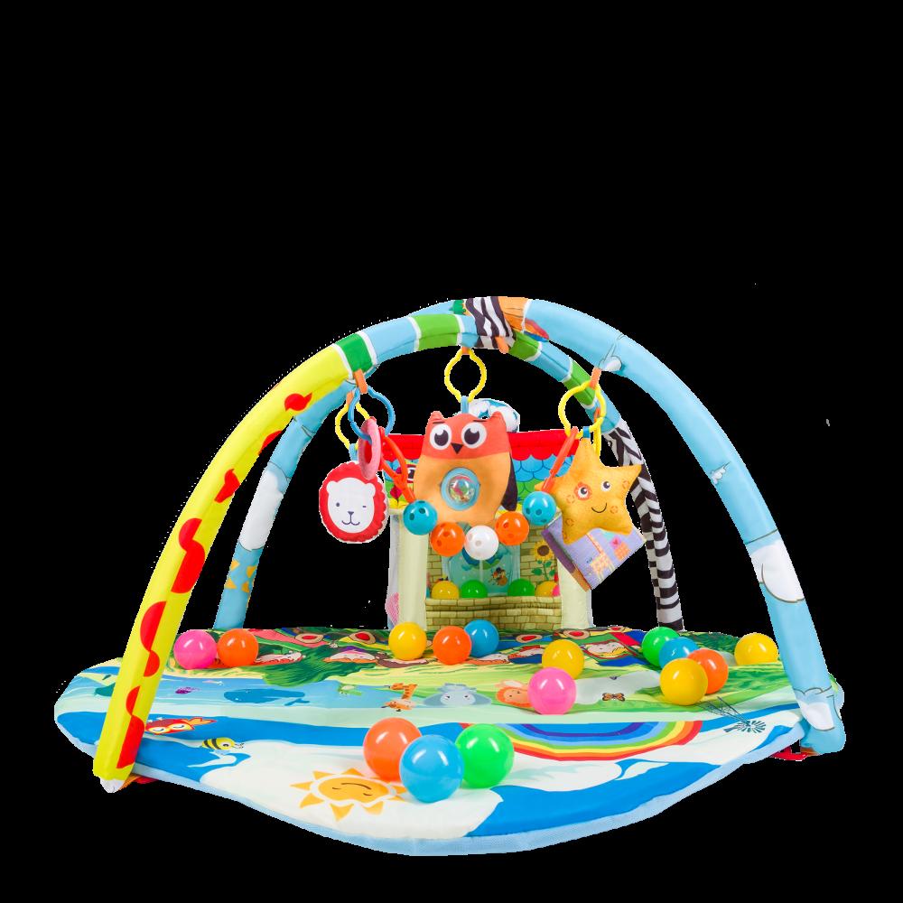 Развивающий игровой коврик для младенца Lionelo Imke