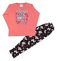 Пижамы для девочек (7-9 лет) Турция оптом купить от склада 7 км