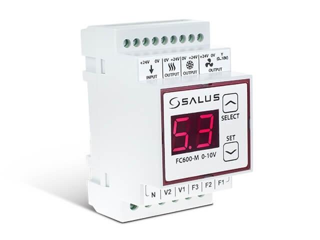 Модуль 0 ... 10V FC600-M 0-10V Salus для терморегулятора фанкойлы FC600