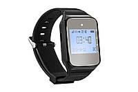 Универсальный пейджер часы официанта R-02 Black Watch Pager RECS USA