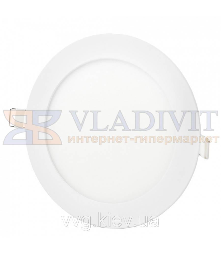 Світильник світлодіодний точковий круглий врізний LED-R-170-12 12Вт 6400К Downlight