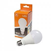 Лампа світлодіодна 15Вт 4200К Е27 (A-15-4200-27), ЕВРОСВЕТ, фото 1