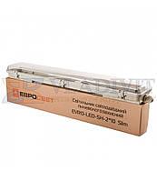 Світильник промисловий лінійний EVRO-LED-SH-2*10 2*600 SLIM під трубчасту світлодіодну лампу Т8