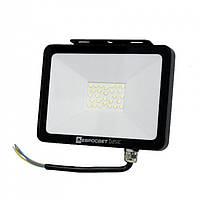 Прожектор світлодіодний 50Вт 6400К 2750Лм (ES-50-504) BASIC-XL, ЕВРОСВЕТ (000040647), фото 1