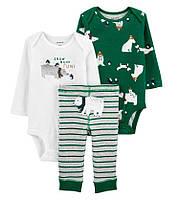 Детский набор одежды, боди для мальчика /дитячий набір одягу для хлопчика від Carters
