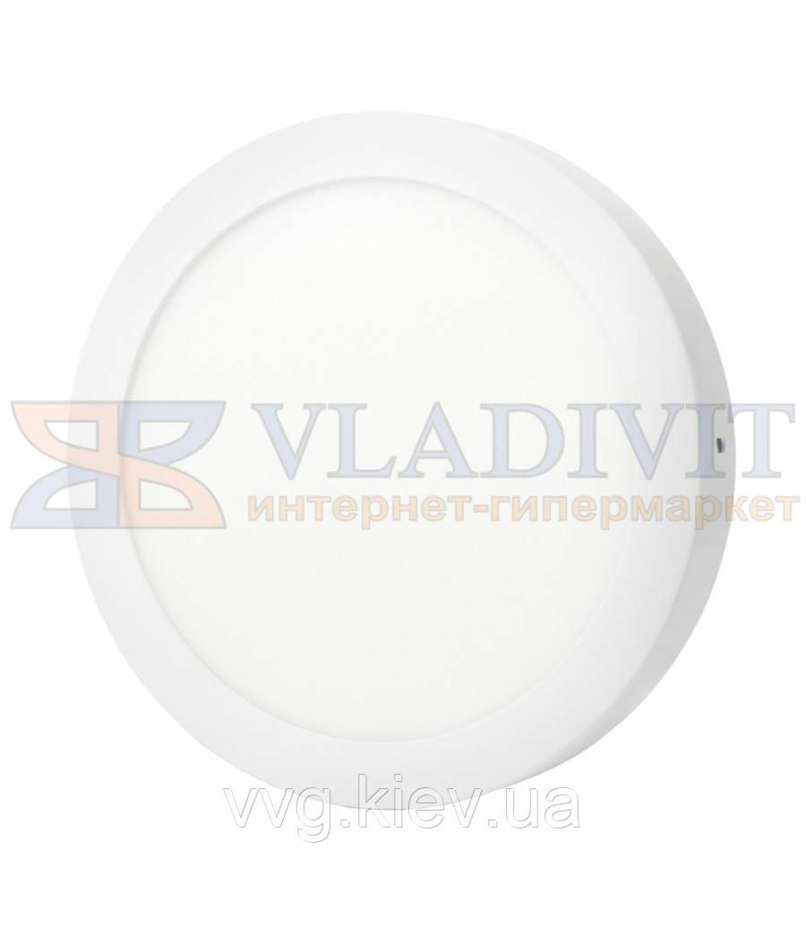 Світильник світлодіодний точковий круглий накладний LED-SR-225-18 18Вт 4200К Downlight