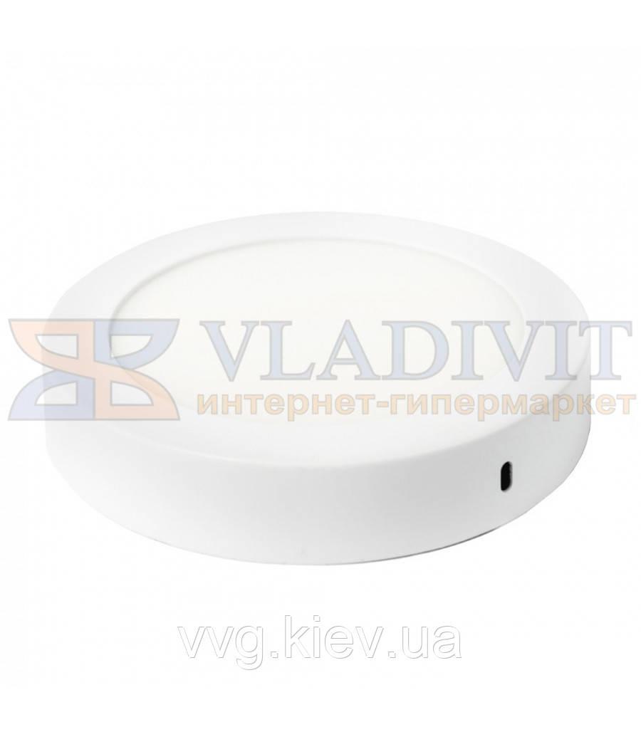 Світильник світлодіодний точковий круглий накладний LED-SR-170-12 12Вт 6400К Downlight