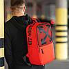 Стильный городской рюкзак OFF WHITE, оф вайт. Красный, фото 6