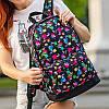 Стильный рюкзак с принтом Tik Tok, тик ток. Для путешествий, тренировок, учебы, фото 4