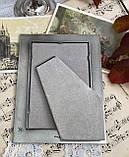 Старая английская фоторамка, рамка для фото, олово, Англия, винтаж, фото 5