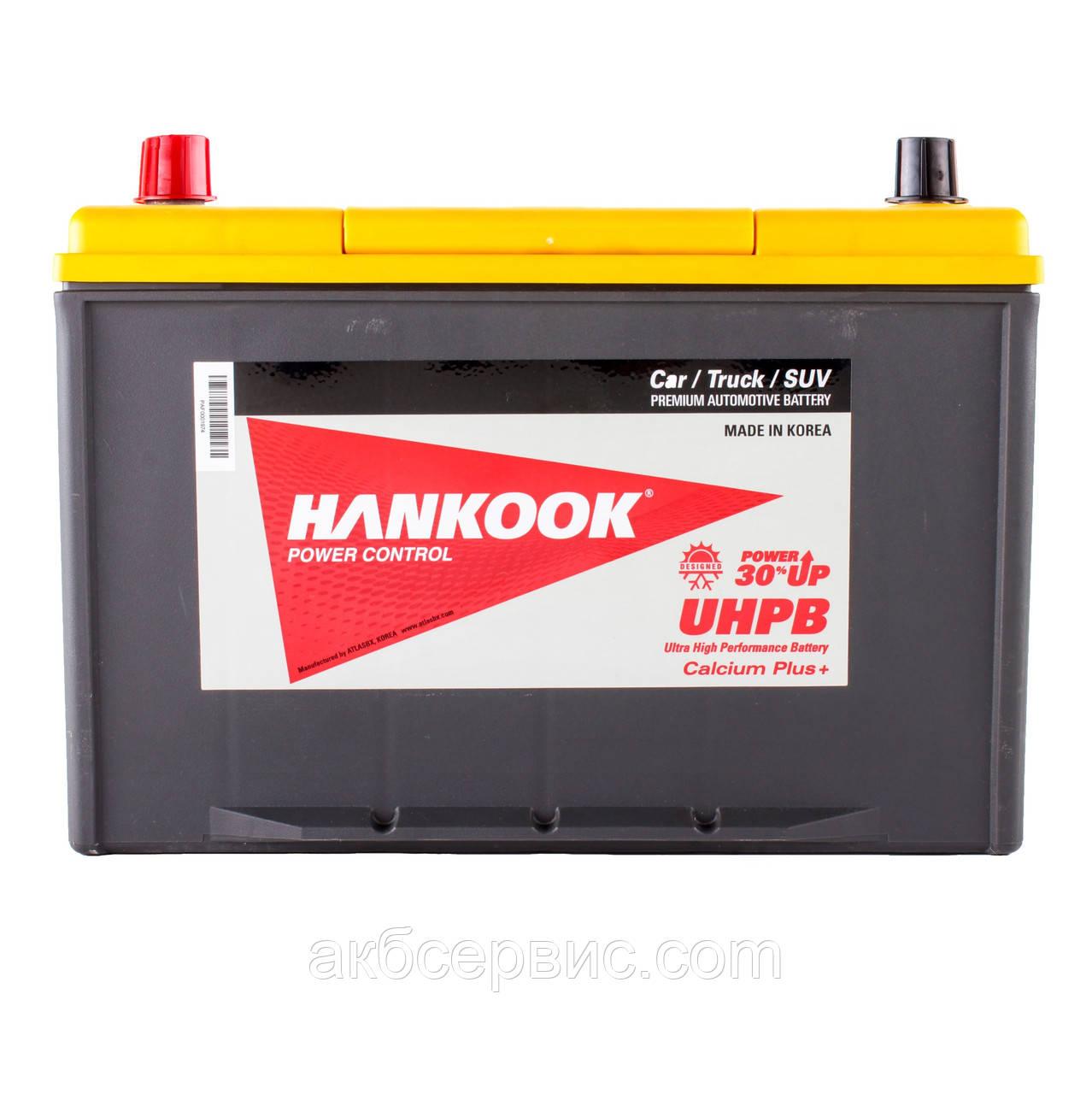 Аккумулятор автомобильный Hankook 6СТ-100 Аз Asia UMF135D31R