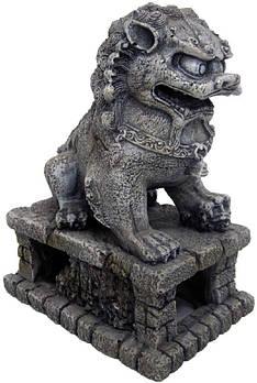 Декор в аквариум Китайский сторожевой лев L 9*13,5*17 см Croci Amtra