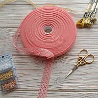 Кружево 20 мм (хлопок) светло-розовое