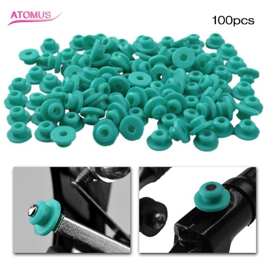 Громерсы резинки ATOMUS в ушко иглы 100 шт