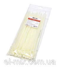 Хомут пластиковий (стяжка) 250х5.0мм білий, ProFix, 8-0217W, упак.-100шт