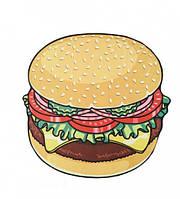 Пляжный коврик Hamburger Разноцветный ds121462, КОД: 1532332
