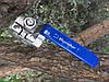 """Кран нержавіючий кульовий 2-х складений з майданчиком під привід 1"""" Bundor"""